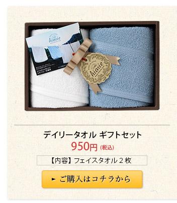 日本製 デイリータオル ギフトセット